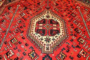 FULL ROOM SIZE TRIBAL HAND WOVEN PERSIAN SHIRAZ RUG CARPET Gladesville Ryde Area Preview