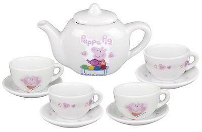 (Peppa Pig Porcelain Tea Set 10 pieces)