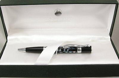 Monteverde Jewelria Mini Black Shell & Chrome Ballpoint Pen - New - 55% Off