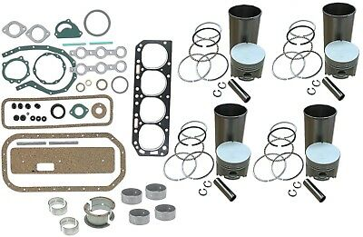 Engine Overhaul Rebuild Kit Ford 800 801 840 841 851 860 861 Tractor 4 Cyl Gas