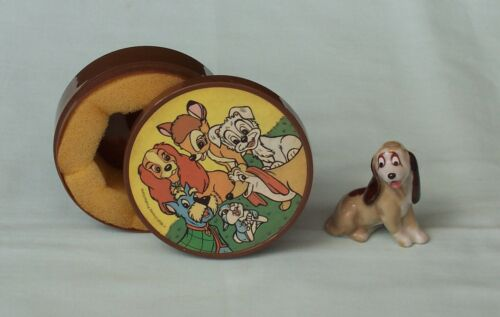 Wade Cooper Whimsies Disney Hat Box Series Figurine England Lady & The Tramp #7