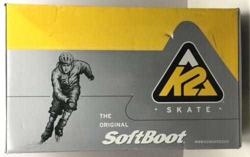 K2 Exo Rollerblades Softboot Inline Skates Mens Size 11 78MM / 80A Wheels NIB