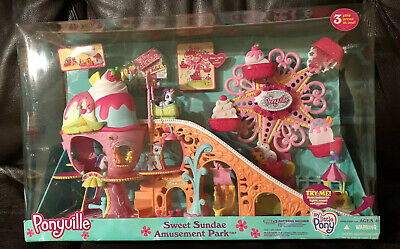 Sweet Sundae Amusement Park Ponyville My Little Pony Lights Sound Motion (My Little Pony Ponyville Sweet Sundae Amusement Park)