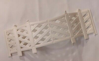 Barbie 1995 Pink 'n Pretty House 11418 Replacement Part Deck Railing Curved