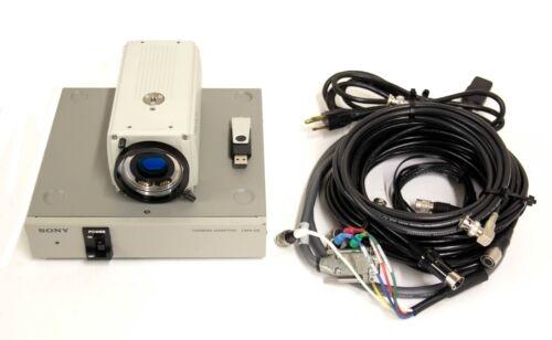 Sony DXC-9100P Progressive 3CCD Color Video Camera w/ CMA-D2 Power Supply 9004 R