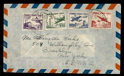 DR WHO CHILE AIRMAIL TO USA  g22254