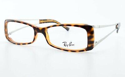 RAY-BAN Brille RB 7011 2301 52[]16 135 Eyeglasses Frame Square Tortoise Silver