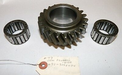 Oliver 1650 1655 Tractor Transmission Gear 107309a Wpair Of 30-3046494 Bearings