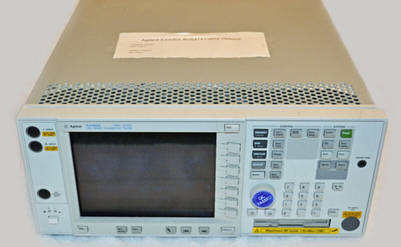 Agilent e4406a VSA Series Transmitter Tester 7MHz to 4GHz