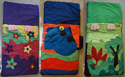 EUC NORTHPOINT TRADING Kids Monkey/bunny/puppy Sleeping Bag-store as (Northpoint Store)