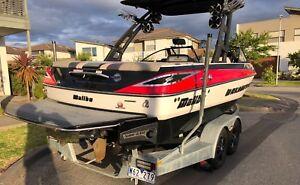 Malibu MY 2016 VLX Wakesetter Surf Gates & wedge