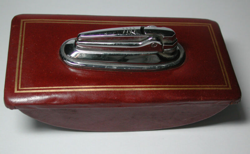 Antique Vintage Fountain Pen Ink Blotter & Lighter Combination