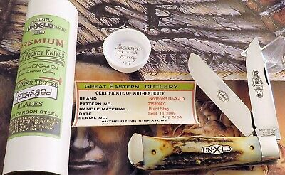 Great Eastern Genuine STAG Bullet Trapper Knife 2009 Issue #47 Of 50 MIB AAA+ NR