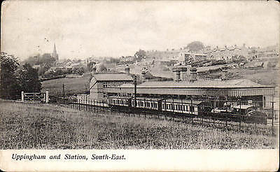 Uppingham & Railway Station, South-East.