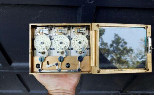 Diebold 3 Movement Bank Vault Time Lock
