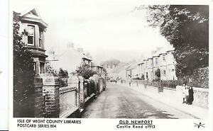 Old Newport Postcard - Castle Road c1913 - Isle of Wight     BH3739