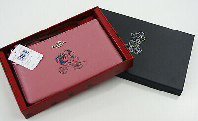 Genuine Coach Disney Limited Edition Purse/Wristlet - Rose RRP $99 Special Offer