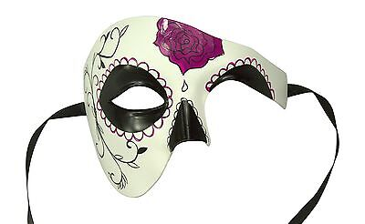 Sugar Skull Day of The Dead Dia De Los Muertos Venetian Masquerade Masks DOD004 - Dia Los Muertos Masks