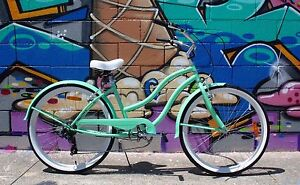 GC Bikes Kirra Ladies 7 Speed Beach Cruiser Brand NEW Miami Gold Coast South Preview