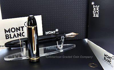 MontBlanc 149 Fountain Pen - Germany- V.RARE 14K (F) FLEX Nib- MINT & Uninked!