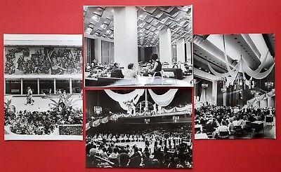 4 x DDR Grossformat Foto DRESDEN Kulturpalast   ( F16898
