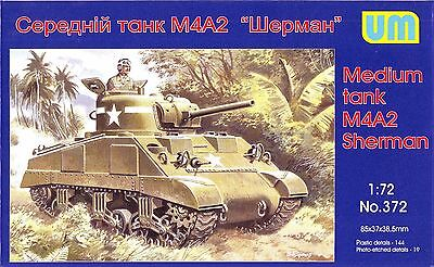 Medium tank M4A2 Sherman << UM #372, 1:72 scale for sale  Shipping to Canada