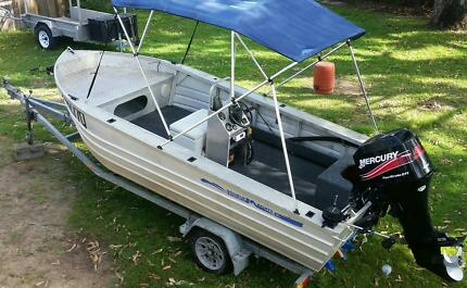 CUSTOM CENTRE CONSOLE BARRA BOAT, 60HP, TRAILER, SWAP/SELL Rochedale South Brisbane South East Preview