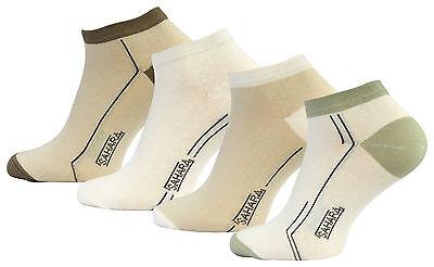 8 Paar Herren Sport Freizeit Sneaker Socken Füßlinge Baumwolle Vincent Creation®