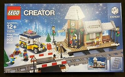LEGO Creator Expert Winter Village Station 10259 Christmas Restaurant Retired