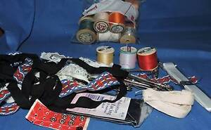 lot of vintage sewing items most the 17 cotton reels 14 are WOOD Port Macquarie Port Macquarie City Preview
