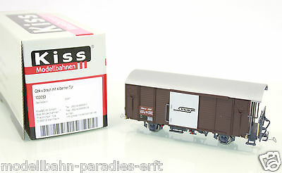 Kiss Spur 0m 103053 gedeckter Güterwagen Gbk-v Kleinserie in OVP (JL7479)