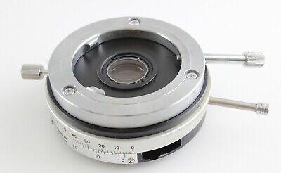 Nikon Petrographic Pol Analyzer For Optiphot Labophot Microscope