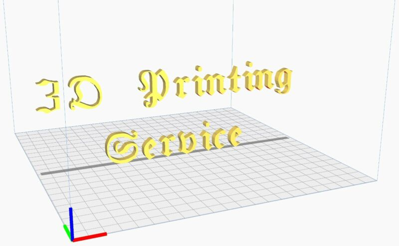 3D Printing and CADService Washington!You request - we print