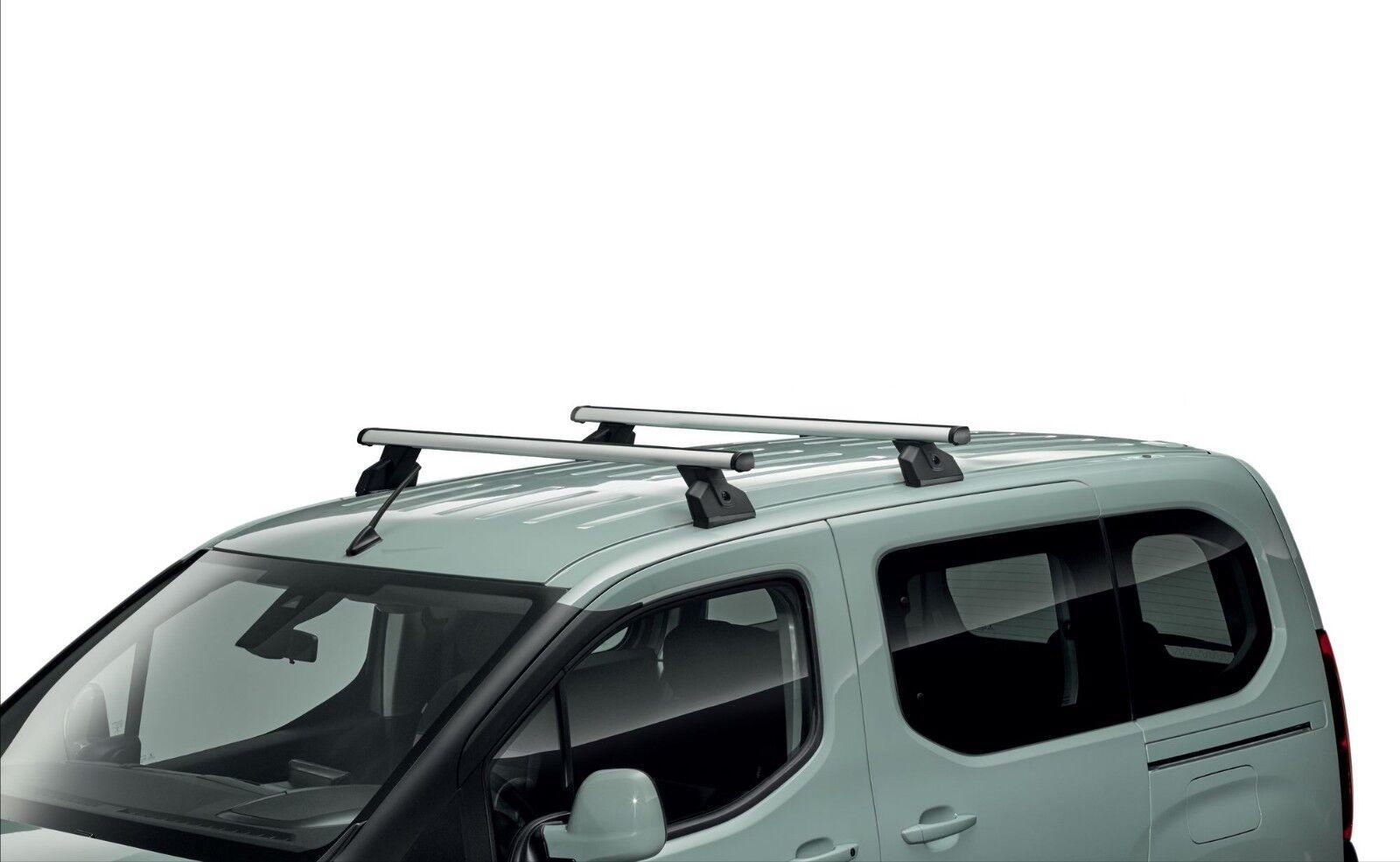 Citroen Berlingo Peugeot Partner 2018 On Roof Bar Kit New