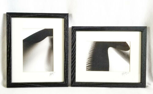 "Landscape Photography, 9 X 11"" Digital Black and White, Oregon Dunes Set of 2"