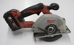 Milwaukee 18v Metal Saw Including 5.0Ah Battery Nerang Gold Coast West Preview