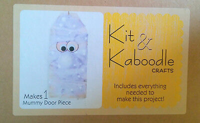 Kit & Kaboodle Mummy Door Kit Halloween Home Decor   - Halloween Mummy Door Decorations