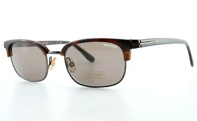 TOM FORD Sonnenbrille Philippe TF106 095 48[]20 140 JFK Style Brown Italy (Jfk Style Sunglasses)