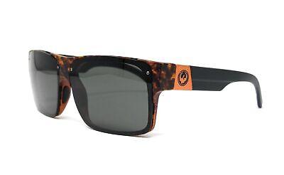 Dragon Reverb Sunglasses (DRAGON Sunglasses REVERB 241 Polished Walnut-Grey Rectangle 62x13x140 )