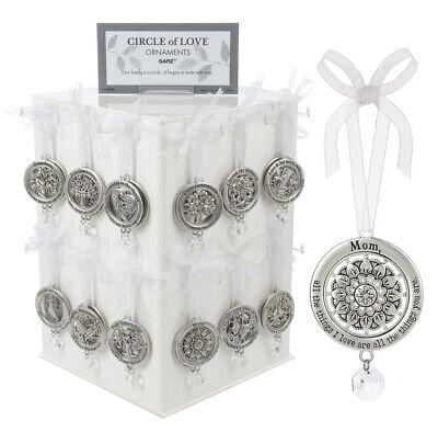 Ganz E7 Spring Christmas Decor Circle of Love Ornament Choose Design ER58301A