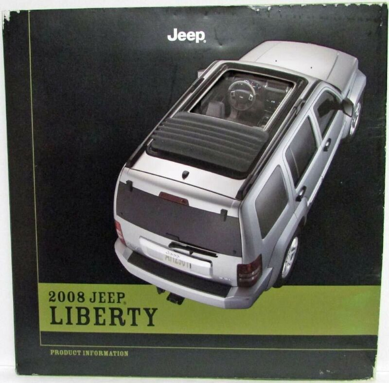 2008 Jeep Liberty Press Kit