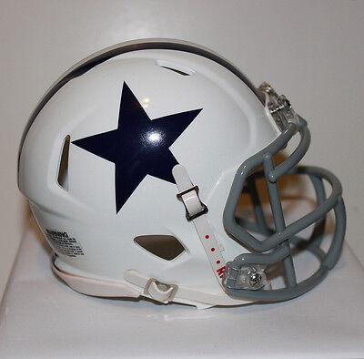 df238e3d 2012 Dallas Cowboys Speed Riddell Custom Mini Helmet - Rare