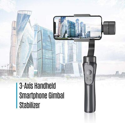 Zhiyun Smooth-Q 3-Axis Handheld Smartphone Gimbal Stabilizer Jet Black VLOG