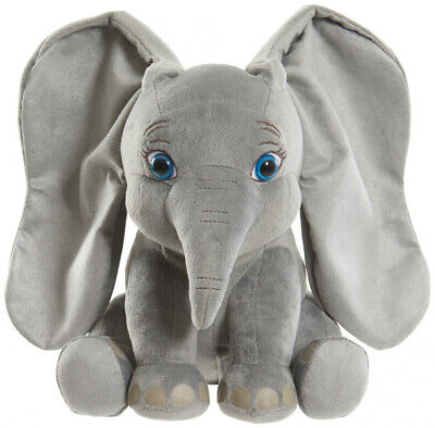 Disney Dumbo Live Action Flapping Ear Feature Plush Kid Toy
