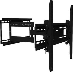 NEW ARTICULATING BIG SCREEN TV WALL MOUNT - EASILY AND SAFELY MOUNT YOUR TV IN THE PERFECT LOCATION