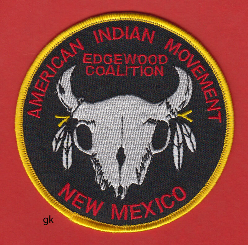 New Mexico  AIM AMERICAN INDIAN MOVEMENT Tribal  Patch