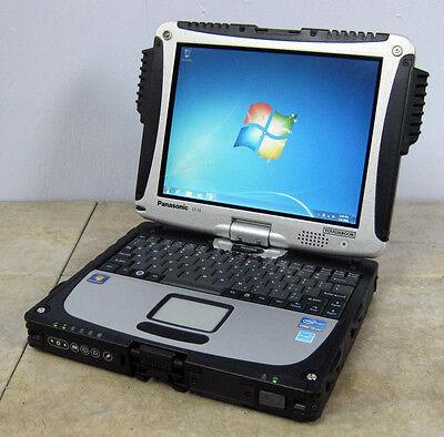 ▲Panasonic Toughbook CF-19 2.6GHz MK6 Core i5 - 128GB SSD - 4GB RAM - WebCam▲