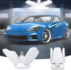 LED Garage Light E27 Ceiling Bayonet Cap Cool Lights For Warehouse Basement 60W