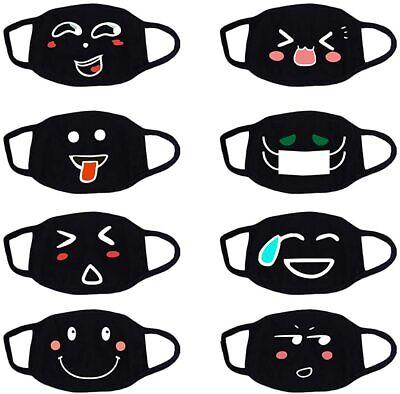 8 Stück Mundschutz masken mit Motiv Unisex Mundschutz Motiv