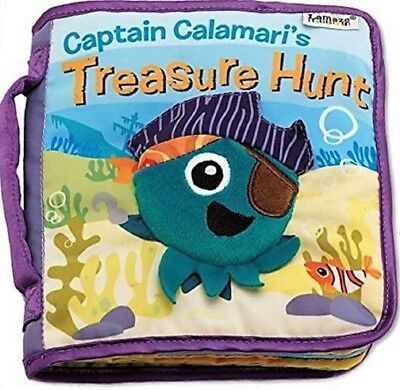Lamaze Captain Calamari's Treasure Hunt Cltoth Book